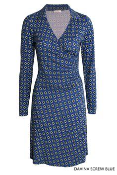 Davina Screw Blue von KD Klaus Dilkrath  #kdklausdilkrath #kd #kd12 #dilkrath #KDKlausDilkrath #DavinaDress #blue #screw #fashion #dress