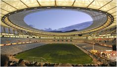 Our new stadium in Green Point Cape Town.