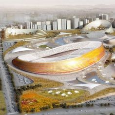 Addis Ababa Stadium and Sports Village by LAVA (construction to begin in 2014)