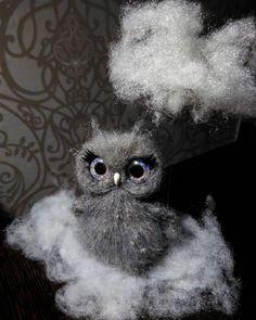 Anna Magic Owl Flower (@magic.owl) в Instagram: «Купить или заказать Сова Туччи (Туччия). Любит купаться в облаках и умываться каплями дождя... сова ручной работы из шерсти…»