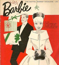 a vintage barbie christmas