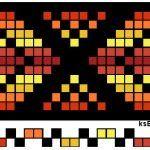 Enkle mønster til grindvev: Fem plukkopp-mønster på samme renning, til grindvev: Mønster med geiteklauver. Ikke bunadrelatert:; Plukkopp-mønster til grindvev Plukkopp-mønster, flette, til grindvev: .  Gammelt Finsk mønster .
