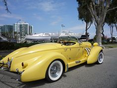 exotic cars On Friday, April we saw this Auburn boattail speedster in Marina del Rey, CA. Austin Martin, Jaguar, Desert Landscaping Backyard, Convertible, Auburn Car, 4x4, Suv Models, Automobile, Unique Cars