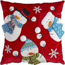 """Képtalálat a következőre: """"snowman pillow"""""""