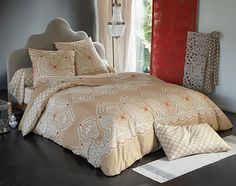 Linge de lit motif oriental | Becquet