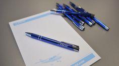 TL pen Blue pen with TL- ULTRALIGHT logo. Logo, Blue, Shopping, Logos, Environmental Print