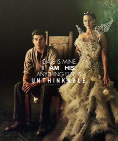 My how the tables have turned (don't worry I'll take him off your hands Katniss)