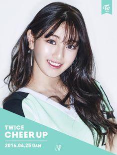 "Twice | Jihyo | Cheer Up Comeback Photos ""Once a fan, TWICE the fun!"" #JYP"