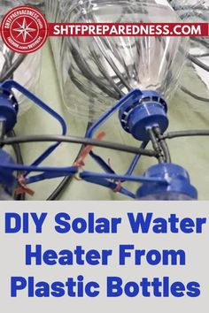 This is how to make a DIY solar water heater from plastic bottles. Does it sound complicated? SHTF Preparedness makes it easy! Having access to hot water is important and makes our everyday lives more comfortable. If you are looking for some tankless ideas and suggestions, take a look at this article now. #waterheater #diywaterheater #heatingwater #howtomkaeadiywaterheater #easywaterheaterideas Diy Solar Water Heater, Best Money Saving Tips, Water Heating, Useful Life Hacks, Shtf, Survival Prepping, Outdoor Entertaining, Easy Diy Projects, Lifehacks