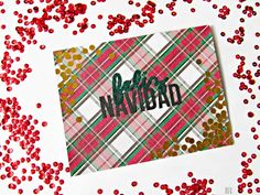 It's Always Ruetten: Trendy Christmas Cards with Silhouette