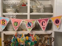 Would it be BUNCO without a bunting...
