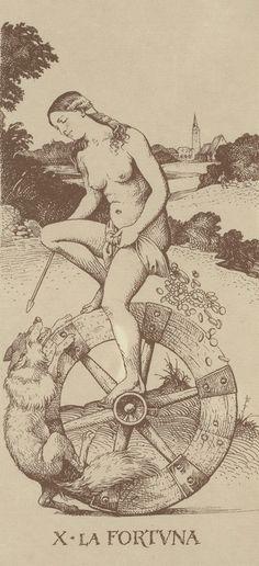 Arcane X : La Roue de la Fortune - Le Tarot d'Albrecht Dürer