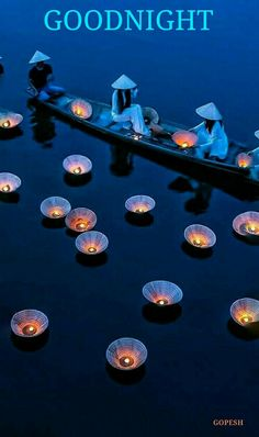 Lights Floating on the River in Vietnam Beautiful World, Beautiful Places, Beautiful Pictures, Beautiful Vietnam, Foto Fashion, Japan Travel, Belle Photo, Beautiful Landscapes, Nature Photography