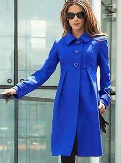 Выкройку женского пальто
