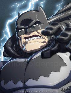 Dark Knight Returns BATMAN by *ArtistAbe on deviantART