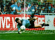 For that moment he was the greatest goalie who ever lived!
