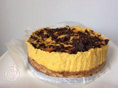 Maak deze heerlijke pompoen-cheese-cake, een eigen recept van Annemiek vol gezonde ingrediënten. Leuk om samen te maken tijdens deze herfstdagen.