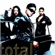 """Total - Kissin' You. it's that real feel-good """"I'm in love"""" song R&b Artists, Music Artists, Black Artists, Soul Music, Music Is Life, 90s Girl Groups, Trap Rap, Da Brat, New Jack Swing"""