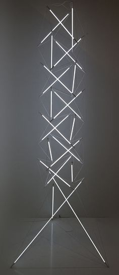 Tensegrity Lights - Fluorescent Tubes | lighting . Beleuchtung . luminaires | Design: Michal Maciej Bartosik |
