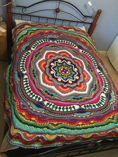 [Stunning] Mandala Madness Crochet Pattern!                                                                                                                                                                                 More