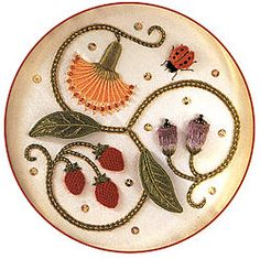 Image detail for -Stumpwork Embroidery: Designs and Projects