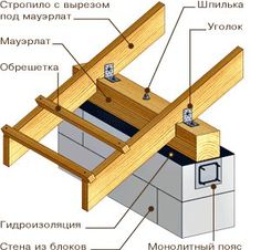 I really love this enchanting photo Woodworking Plans, Woodworking Projects, Roof Truss Design, Shed Construction, Roof Trusses, Roof Detail, A Frame House, Roof Structure, House Roof