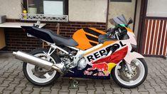 Graphic design no.2 Honda CBR 600 F4 Repsol concept