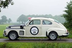 Volvo PV 544 rally car, 1965