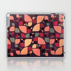 Vintage Butterflies Pattern Laptop & iPad Skin by VessDSign - $25.00