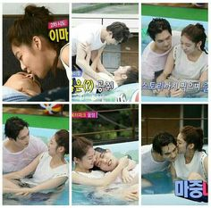 Love their skinship! Gong Seung Yeon, Lee Jong Hyun, Song Jae Rim, We Get Married, Korean Music, Jonghyun, Otp, Kdrama, Tv Shows