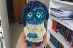Sadness (Inside out) by Miahandcrafter