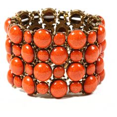 Coral bracelet. Looks stretchy too