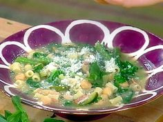 Get this all-star, easy-to-follow Green Minestrone recipe from Rachael Ray