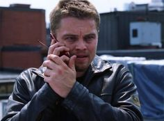 The Departed - Belstaff Police blouson The Departed, Imaginary Boyfriend, King Of The World, In God We Trust, Belstaff, Living Legends, Moving Pictures, Film Industry, Leonardo Dicaprio