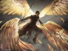 Angelic Gift, Josu Hernaiz on ArtStation at https://www.artstation.com/artwork/angelic-gift