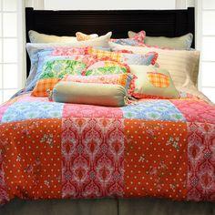Pointehaven Luxury 12 Piece Bedding Set in Clarissa