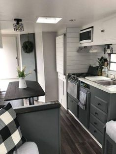 Brilliant Picture of Wonderful RV Camping Living Decor Remodel Makeover And Become Happy Campers Lifestyle - Lifestyle & Interior Design Trends Remodeled Campers, Rv Decor, Camper Living