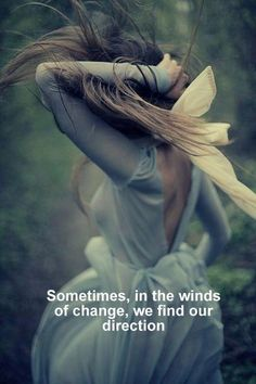 Winds of change...
