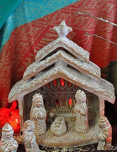 Catherine et les fées: Nativity sets from around the world