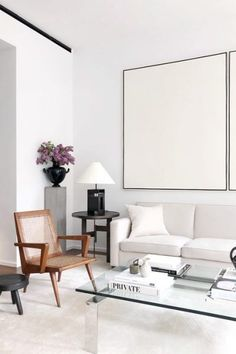 Home Interior Salas Living Room Inspiration, Interior Design Inspiration, Home Interior Design, Interior Styling, Interior Architecture, Minimal Architecture, Living Room Interior, Home Living Room, Living Room Designs