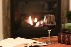 Missouri Wine and Book Pairings | When the temperature dips and we're in the heart of a Missouri winter, there's nothing better than curling up under a cozy, warm blanket with a good book and a glass of wine.