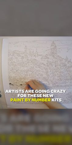 If you love to draw/paint, you have GOT to try these new Van-Go kits (for advanced artists). If you love to draw/paint, you have GOT to try these new Van-Go kits (for advanced artists). Art Sketches, Art Drawings, Go Kit, Paint By Number Kits, Paint By Numbers, Art Techniques, Van Life, Art Tutorials, Diy Art