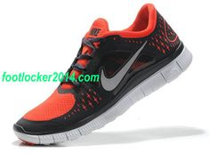 Nike Free Run 3 Black Orange Shoes For Running Mens 4a9116ba7f7