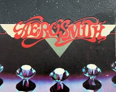 Vintage Aerosmith, sheet music book, 1970s rock, guitar chords, Aerosmith Rocks, lyrics, garage band, classic rock n roll. via Etsy.
