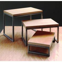 Tabletop Nesting Display Risers