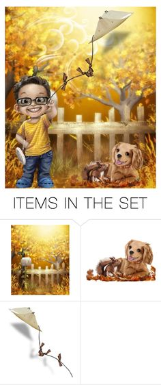 """""""Go Fly A Kite"""" by barbarapoole ❤ liked on Polyvore featuring art"""