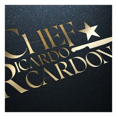 Celebrity Chef Ricardo Cardona