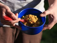 """Hungry Hiker - """"Murray's Hurried Curry""""  Backpacking food    Curry while on the trail? Yes please."""
