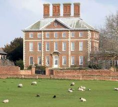 Winslow Hall, Buckinghamshire, England. The house most famous for being one of the few remaining examples of Sir  Christopher Wren's architecture outside London that has been spared alteration