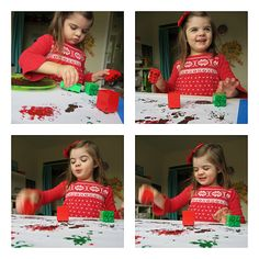 lego painting wrapping paper craft